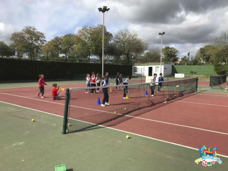 Actividad deportiva con el colegio Miguel Hernández
