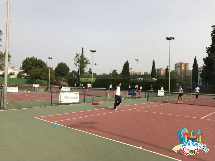 Actividad deportiva en Club Río Grande con colegio Santa María del Valle