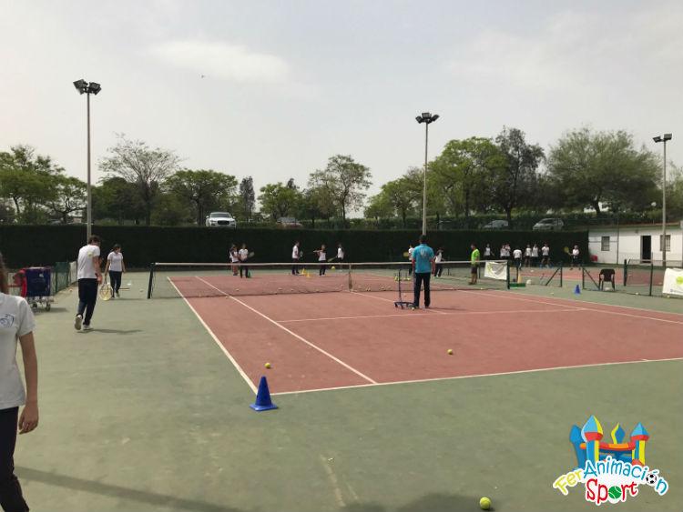 Actividad deportiva en Club Río Grande